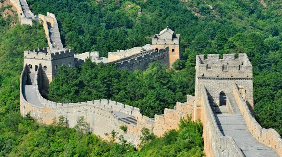 La Grande Muraglia Cinese - sezione Mutianyu