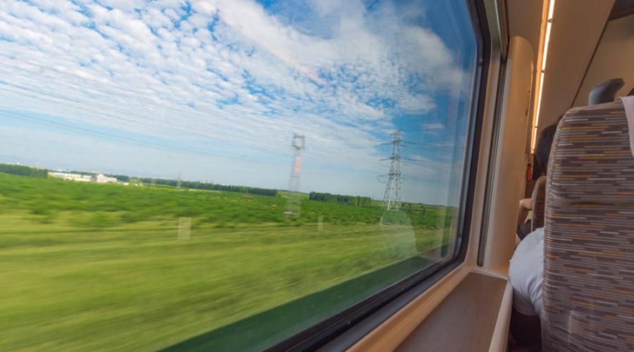 In treno alta velocità