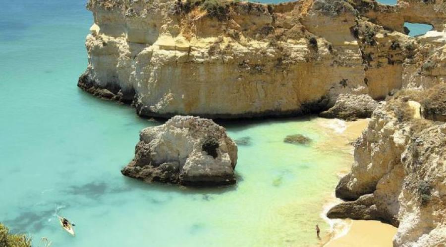 Algarve, costa