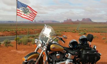 Tour in Harley Davidson nella mitica Route 66