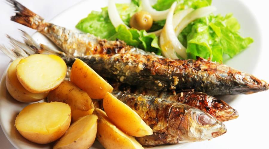 Sardine alla griglia, piatto tipico