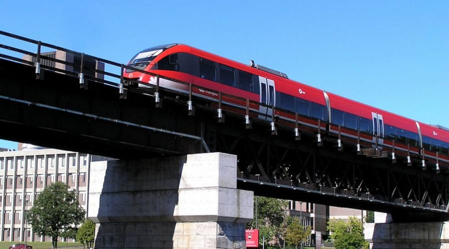 Canada in treno