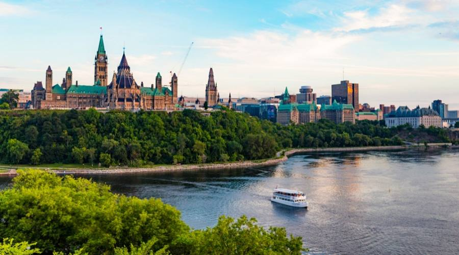 Fiume in Ottawa