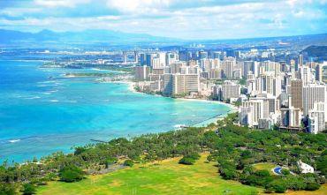 La grande mela ed il mare delle Isole Hawaii