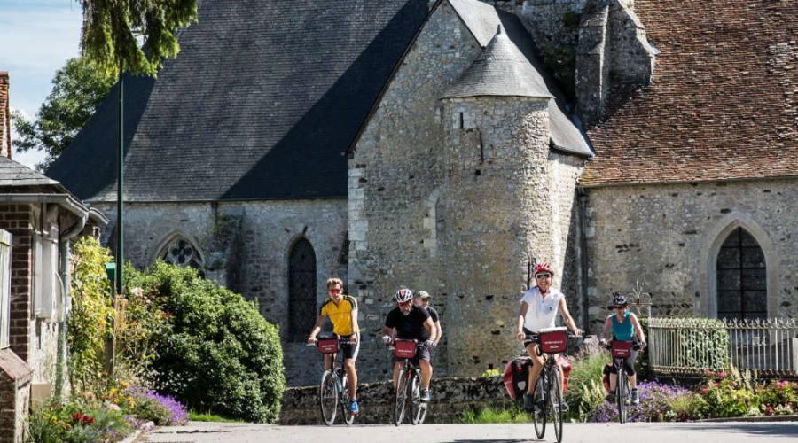 Chiesa in Normandia