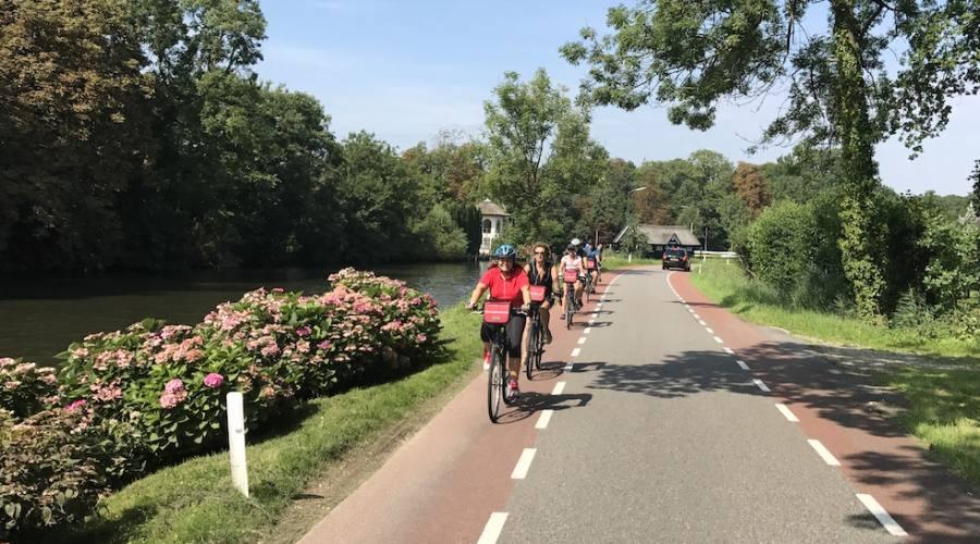 In bici a Breukelen