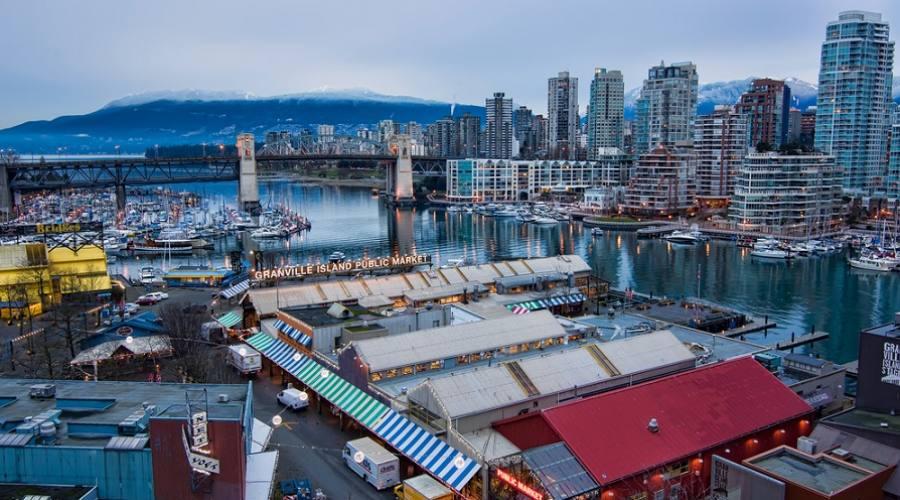 Granville Island Market - Vancouver