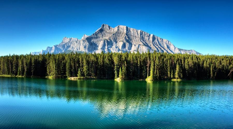 Johnson Lake - Banff National Park