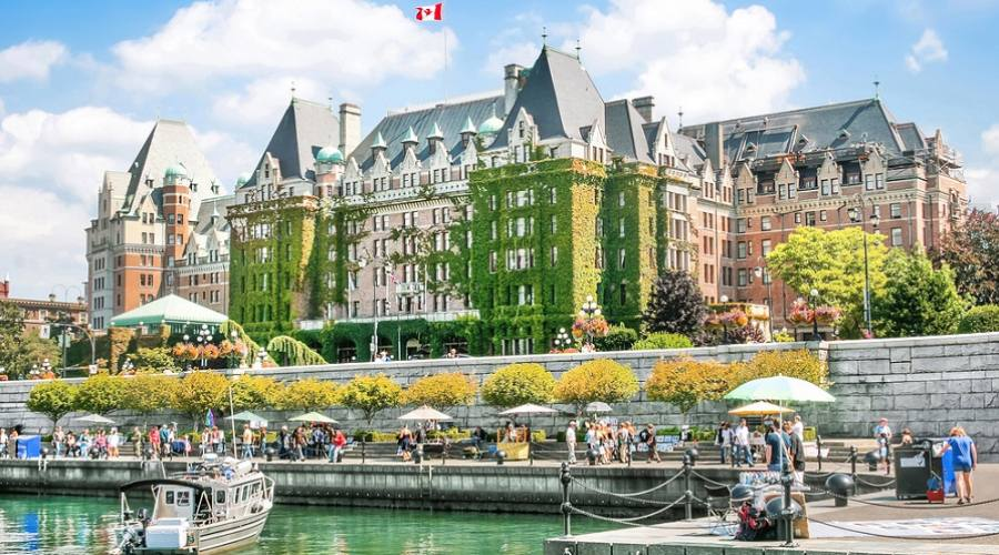 Inner Harbour of Victoria - Vancouver Island