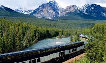 Incredibili paesaggi Canadesi con il treno Rocky Mountaineer
