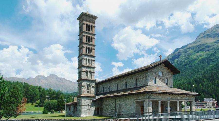 Chiesa di San Carlo Borromeo - St. Moritz