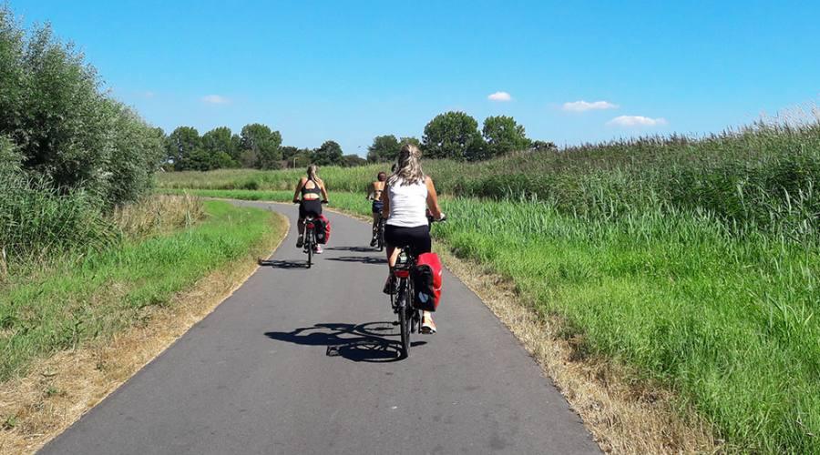 In bici a Zandaam