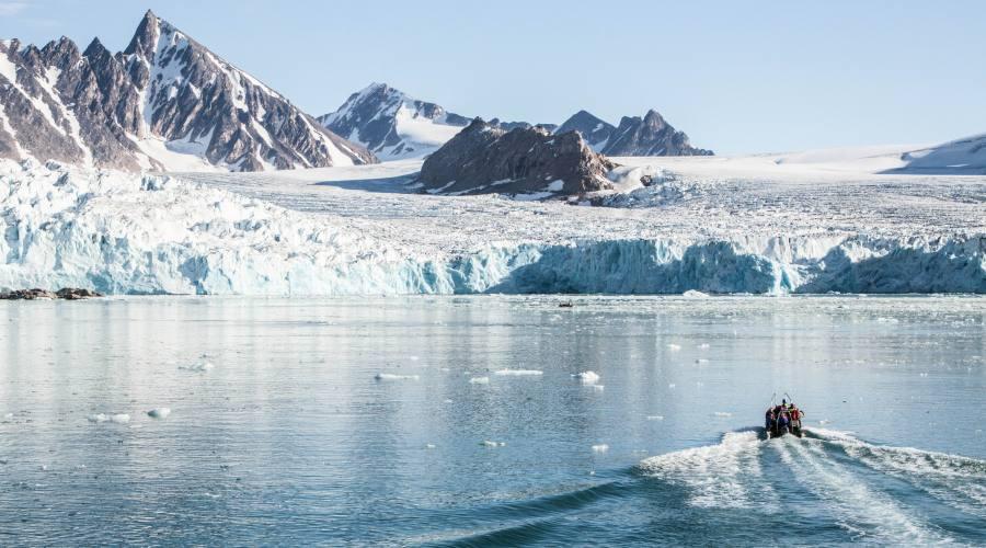 Ghiacciaio alle Svalbard