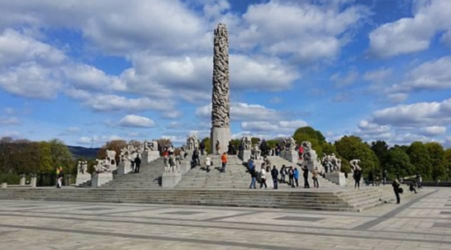 Oslo Parco di sculture
