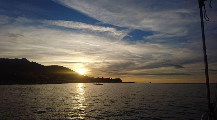 Tramonto costiera Amalfitana