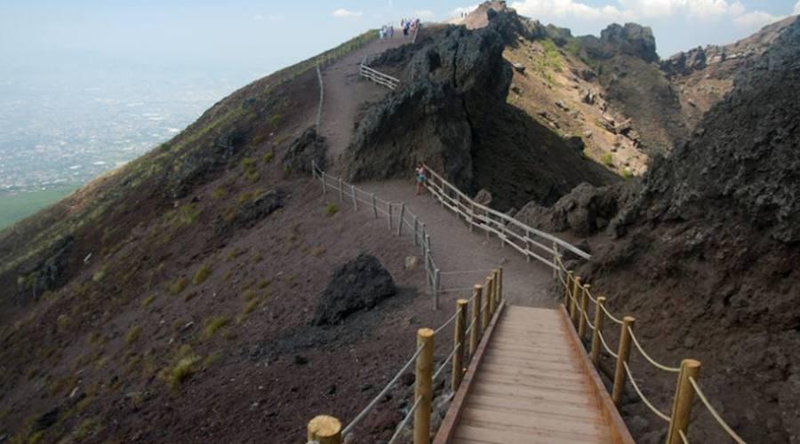 Escursione al Vesuvio
