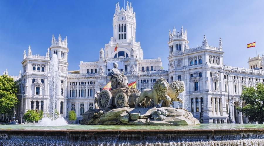 Fontana di Cibele - Madrid