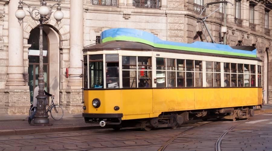 Milano, il vecchio tram