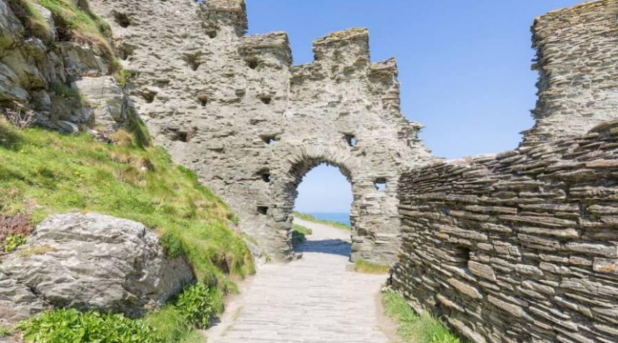 Ruderi della fortezza di Tintagel