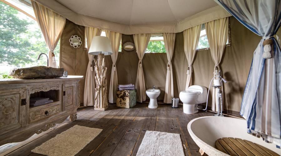 Bagno privato suite Bamboo