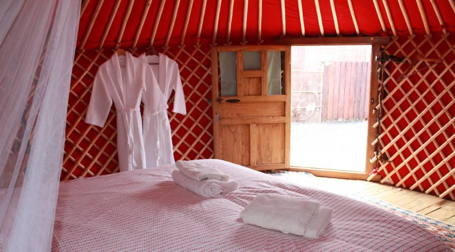 interno di una yurta