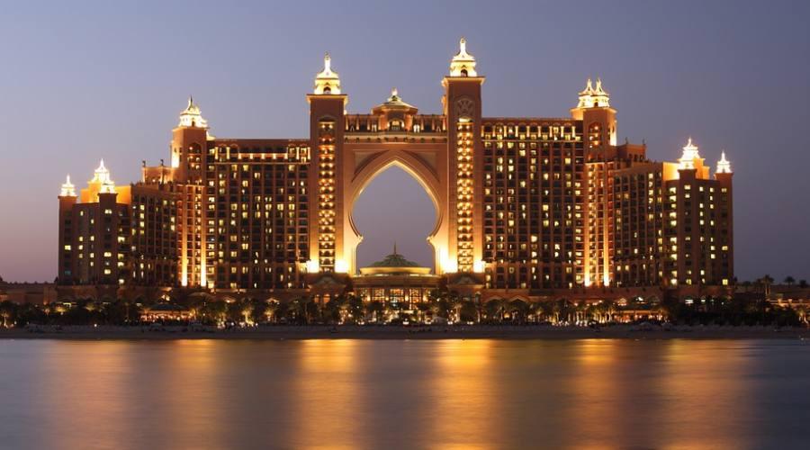 Atlantis The Palm di notte