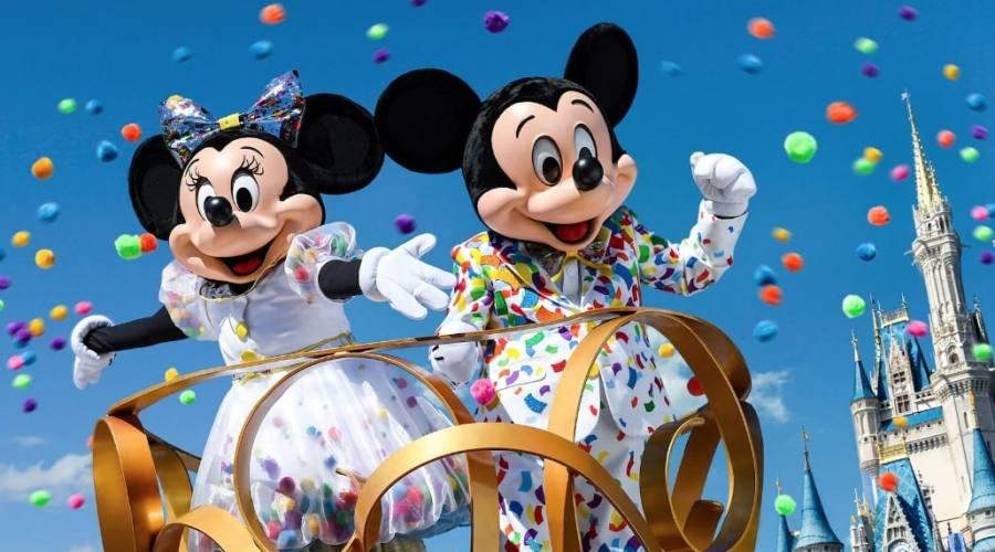 La parata: Minnie e Topolino