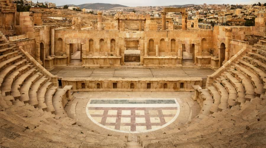Jerash, il teatro settentrionale