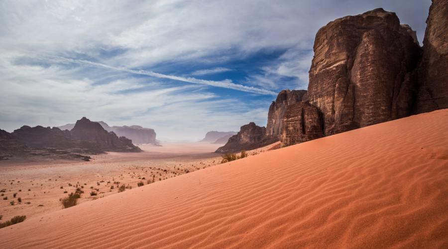 Wadi Rum deserto