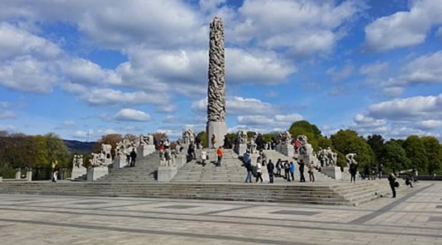 Vigeland - Parco sculture ad Oslo