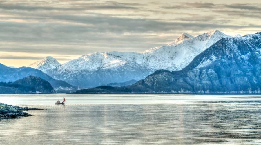 Navigando tra i fiordi