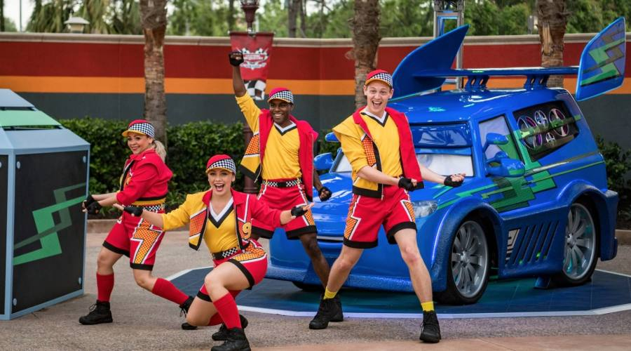 "Spettacolo a tema ""The Cars"" a Disney Hollywood Studios"