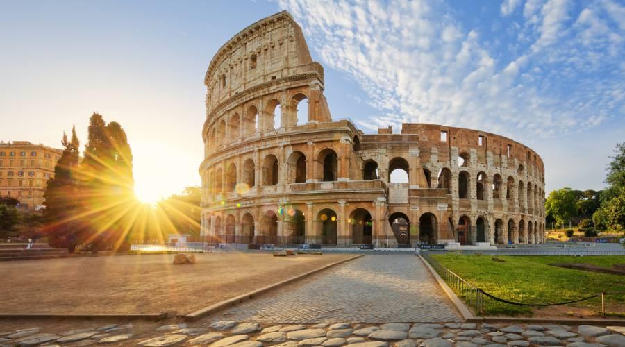 Vista del Colosseo