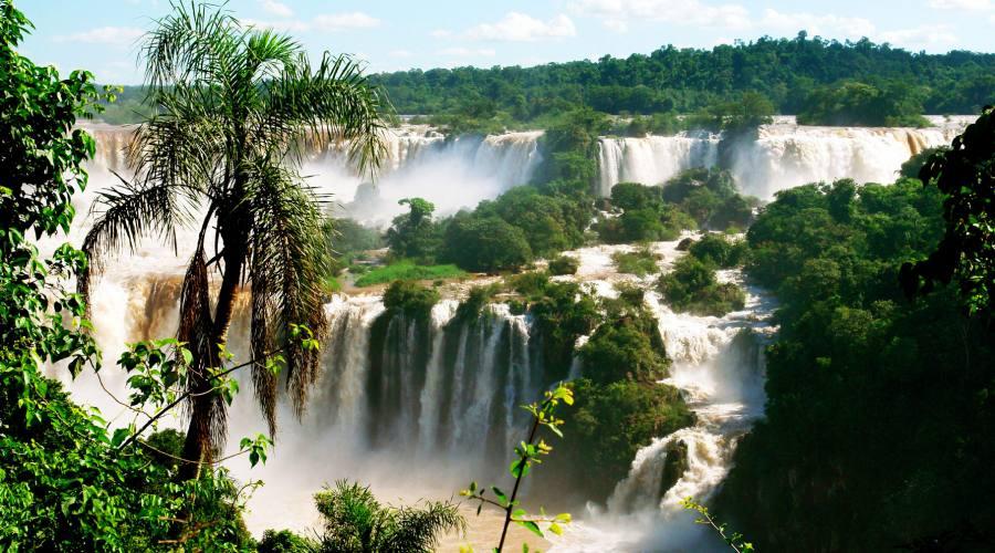 Cascate di Iguazú, lato Brasile