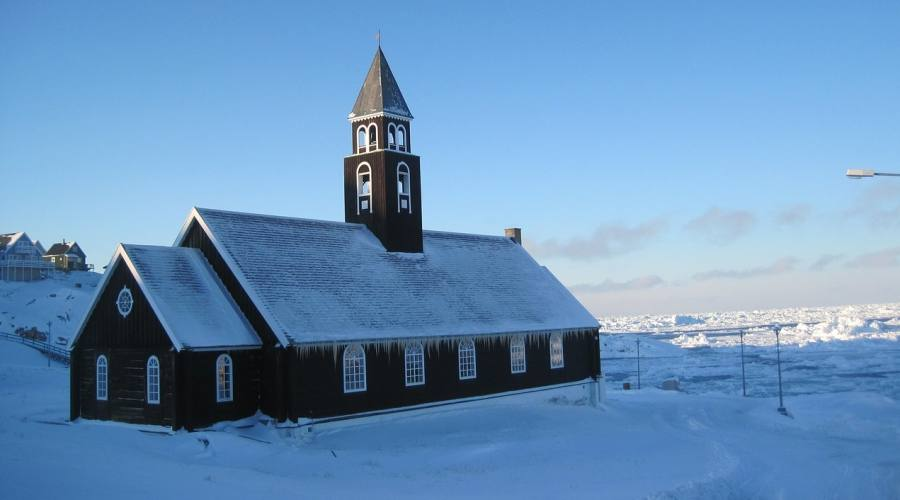 Ilullisat chiesa