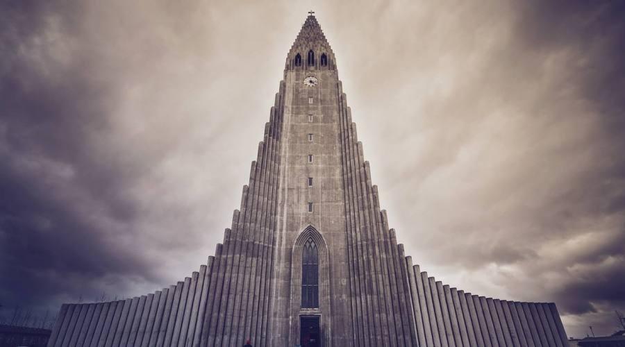Reykjavík chiesa nordica