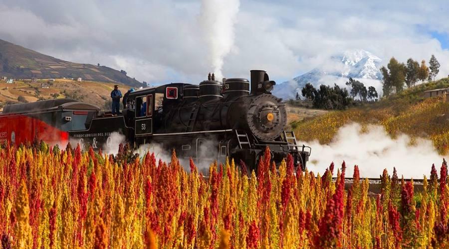 Viaggiare in treno - Ecuador