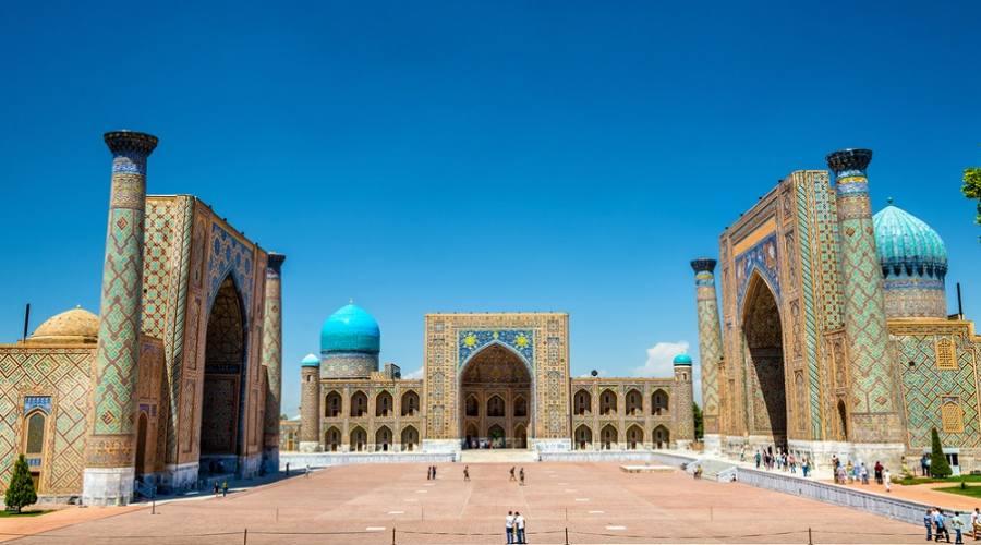 Il Registan - Samarcanda, Uzbekistan