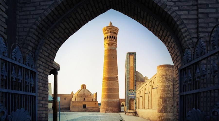 Yard of Poi Kalyan - Bukhara, Uzbekistan