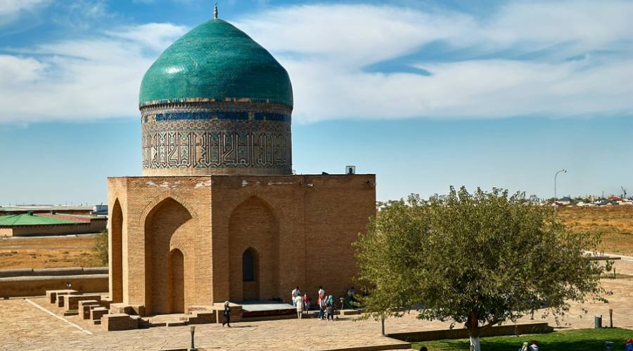 Mausoleum Khoja Ahmed Yasawi - Turkestan, Kazakhstan