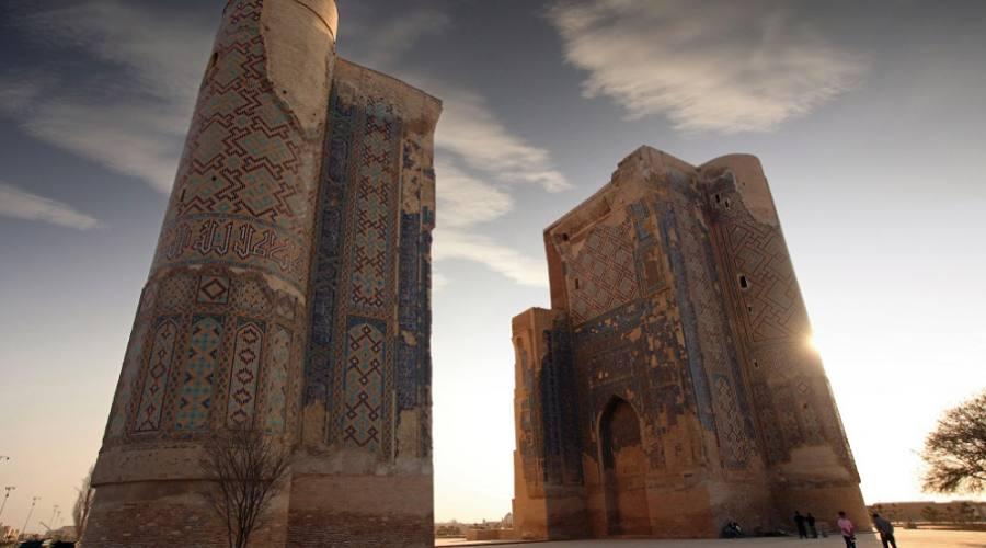 Grande portale Ak-Saray - White Palace, Shahrisabz