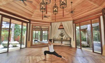 Yoga, massaggi  e relax sull'isola delle palme