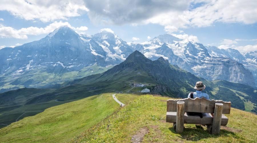 Godersi il panorama - Jungfrau