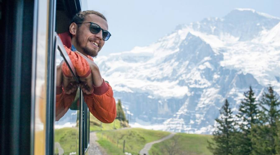 viaggio in treno - Jungfrau