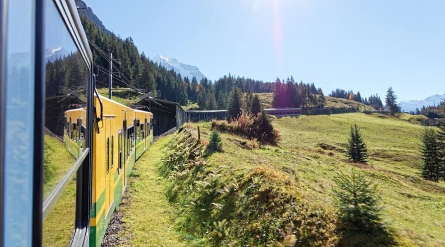 Treno per Kleine Scheidegg