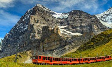 Speciale weekend in treno sulle montagne svizzere con lo Jungfrau Travel Pass