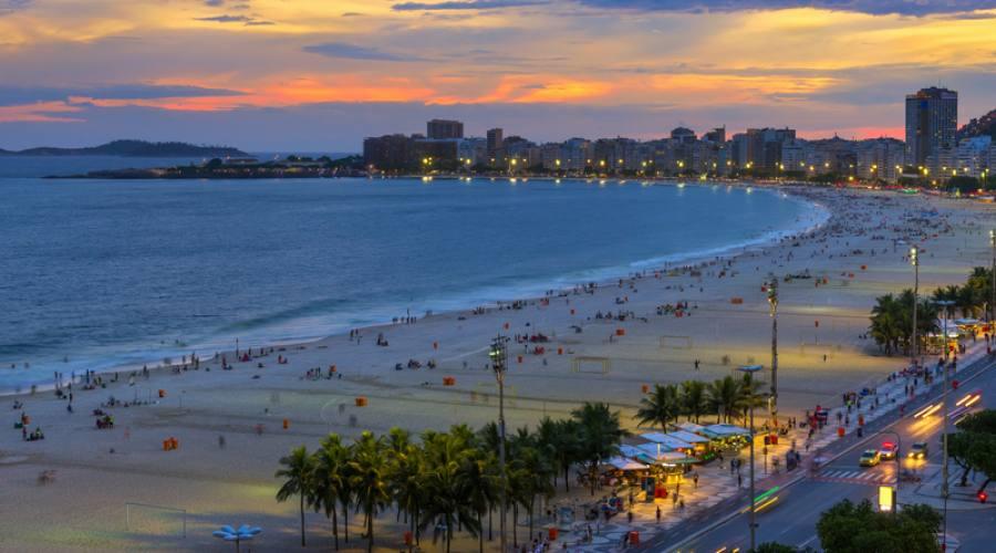 Viaggio fotografico di gruppo a Rio: Passeggio a Copacabana