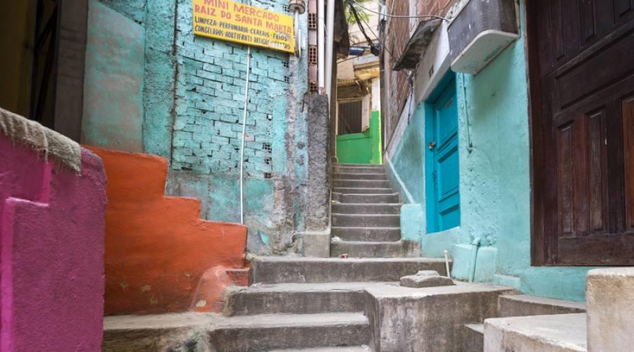 Viaggio fotografico di gruppo Rio: Favela Santa Marta