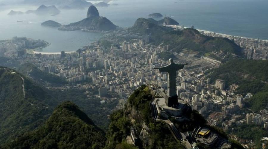 Viaggio fotografico di gruppo Rio: Baia de Guanabara dall'alto