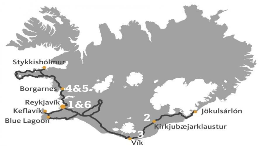 Itinerario Tour Islanda